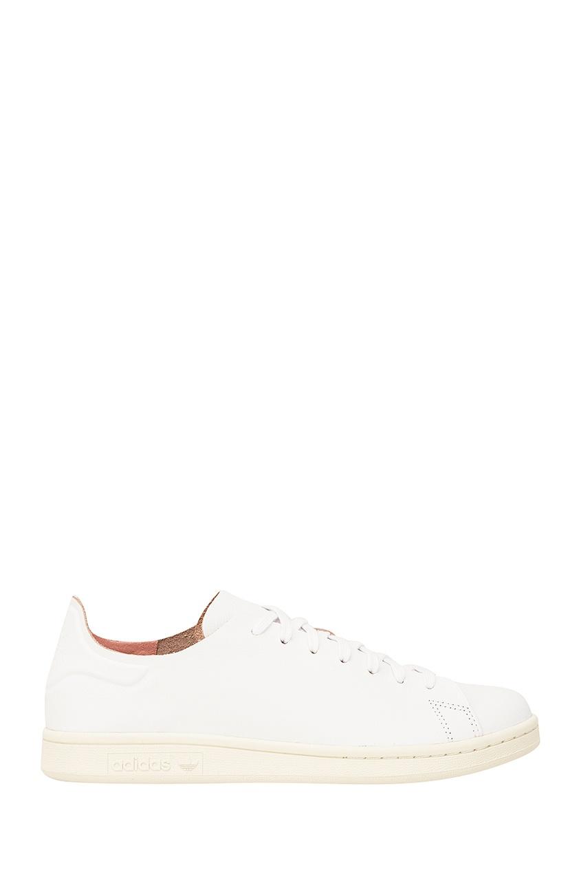 Adidas Белые кеды Stan Smith Nuude W adidas кеды adidas stan smith vulc mystery blue footwear white matte gold uk 12