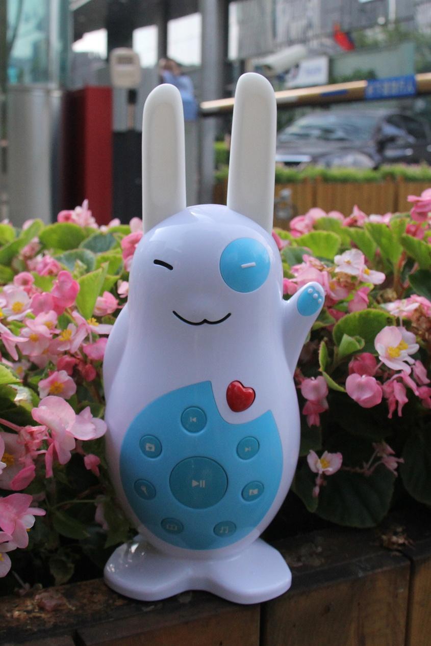 Alilo Музыкальная игрушка «Классный зайка» в голубом alilo медиаплеер умный зайка r1 alilo розовый