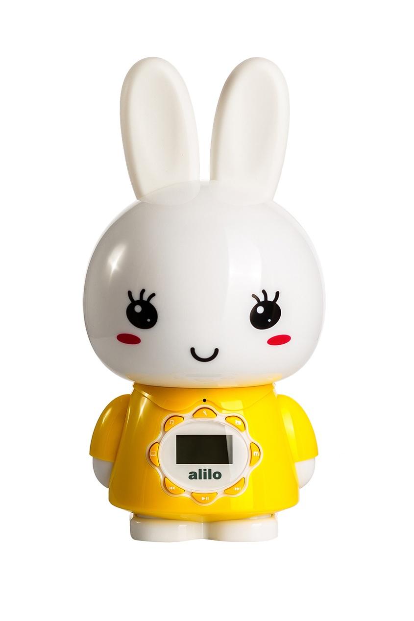 Alilo Музыкальная игрушка «Большой зайка» в желтом alilo музыкальная игрушка большой зайка в голубом