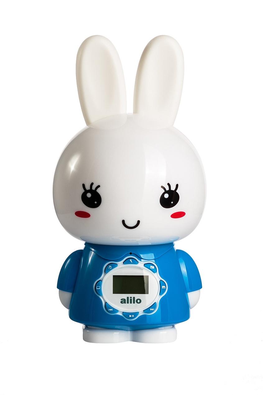 Alilo Музыкальная игрушка «Большой зайка» в голубом alilo музыкальная игрушка большой зайка в голубом