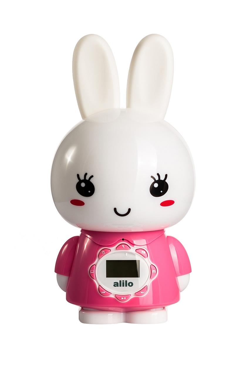 Alilo Музыкальная игрушка «Большой зайка» в розовом alilo музыкальная игрушка большой зайка в голубом