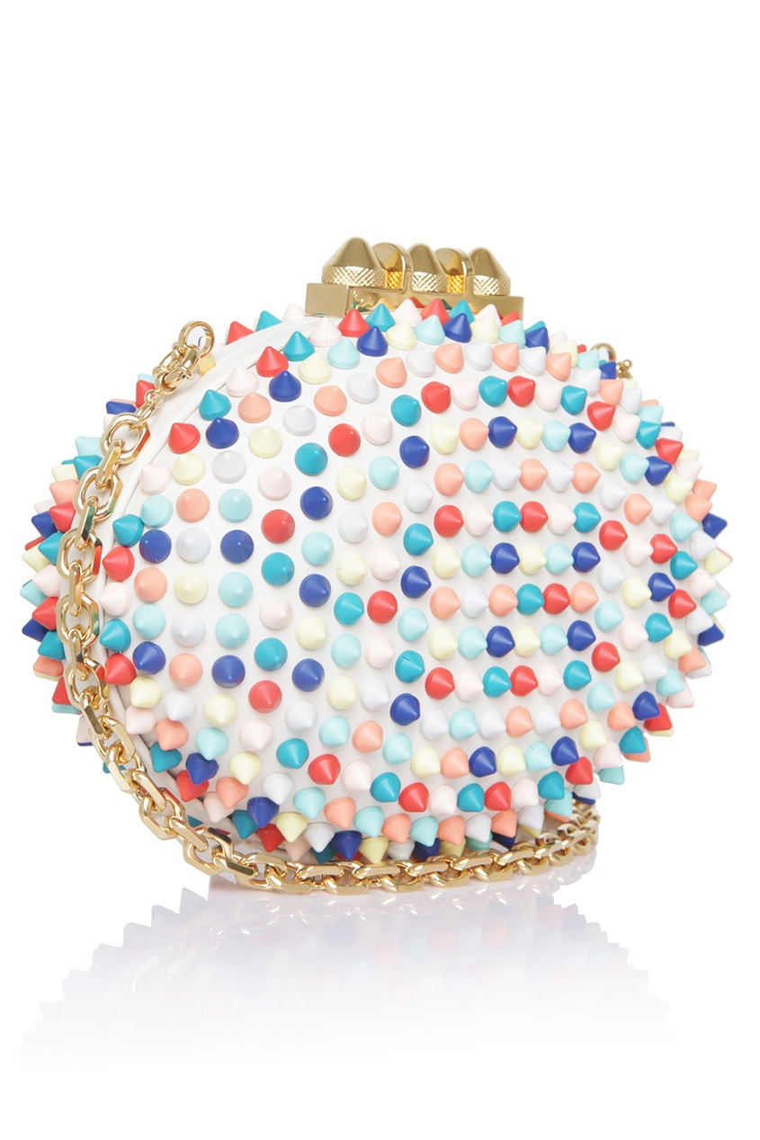 Кожаная сумка Mina Clutch