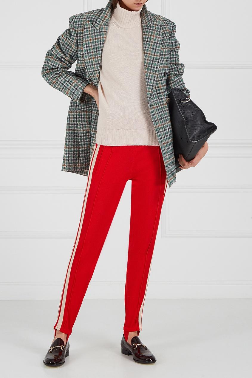 где купить Isabel Marant Etoile Красные брюки со штрипками по лучшей цене
