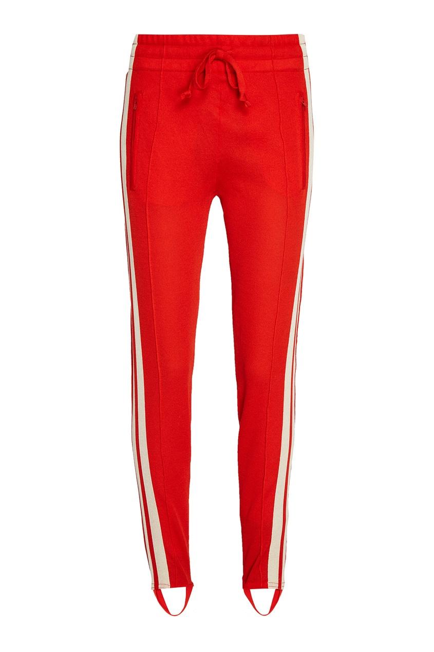 Isabel Marant Etoile Красные брюки со штрипками theory черные брюки со штрипками
