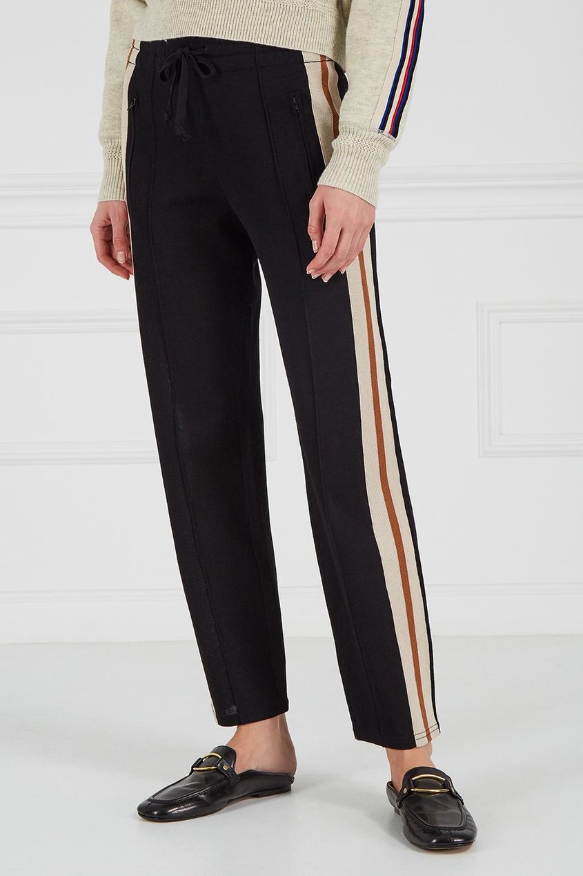 купить Isabel Marant Etoile Спортивные брюки с лампасами по цене 22400 рублей