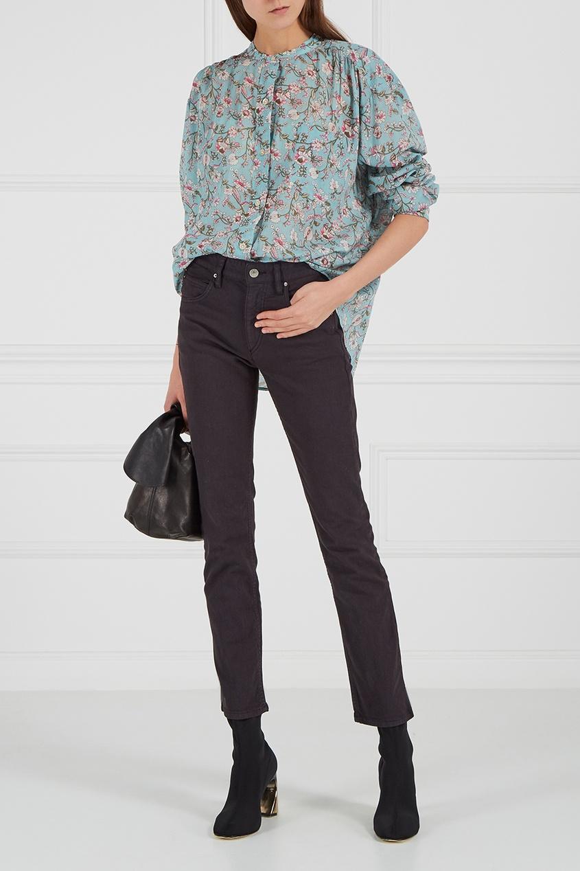 Isabel Marant Etoile Черные прямые джинсы