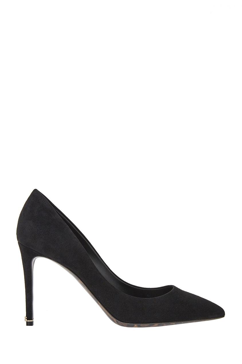 Dolce&Gabbana Черные замшевые туфли