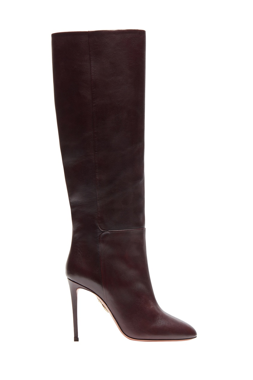 Aquazzura Кожаные сапоги Brera Boot 105 brian atwood кожаные сапоги ares