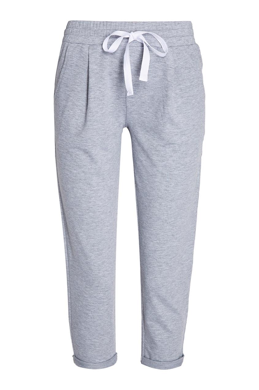 Manouk Серые спортивные брюки брюки спортивные светло серого цвета brums ут 00007521