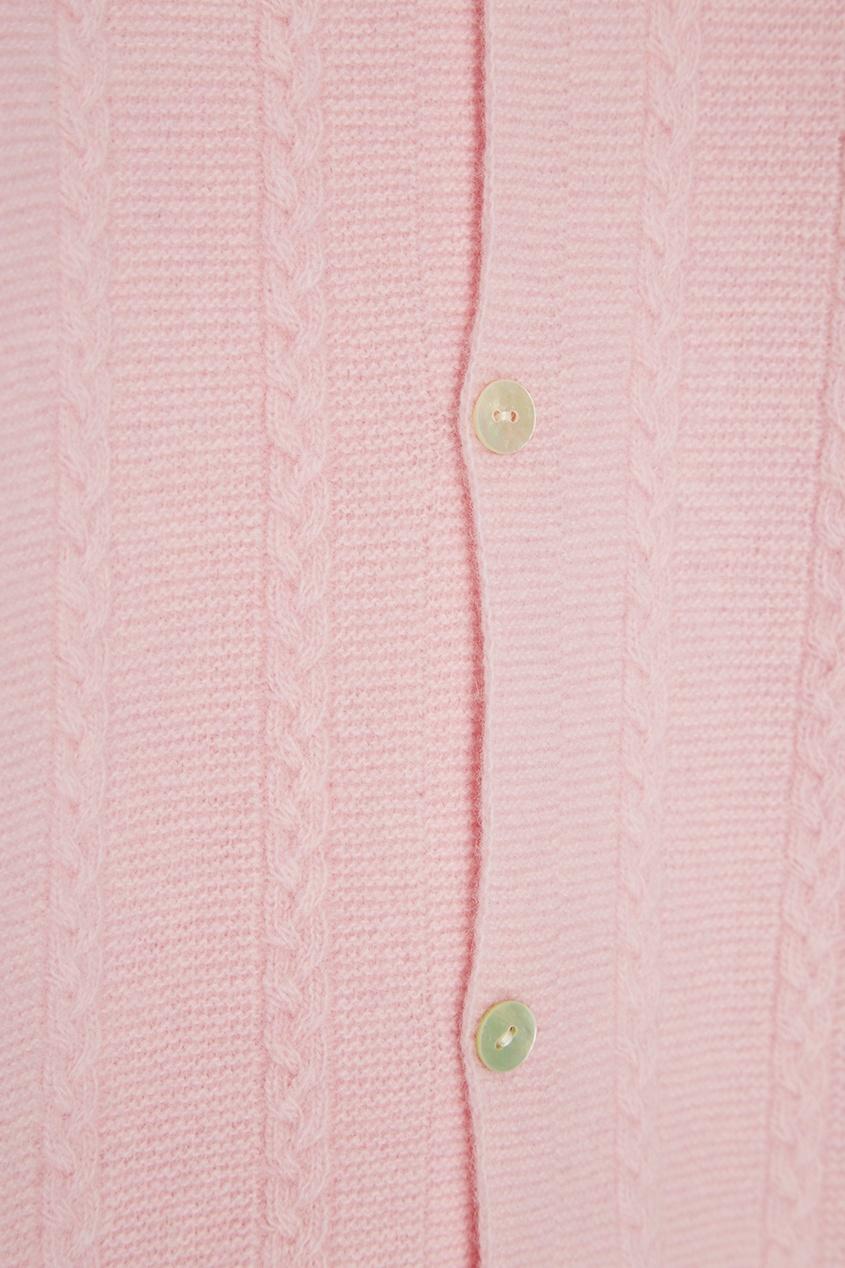 Bubbles Розовый вязаный комбинезон spring bubbles с пупырышками