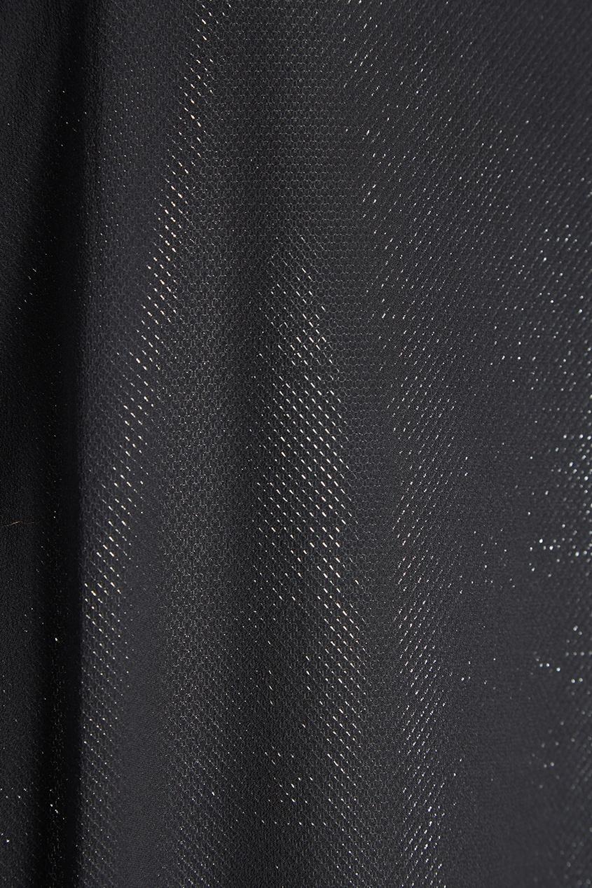 Двойное платье-миди из шелка