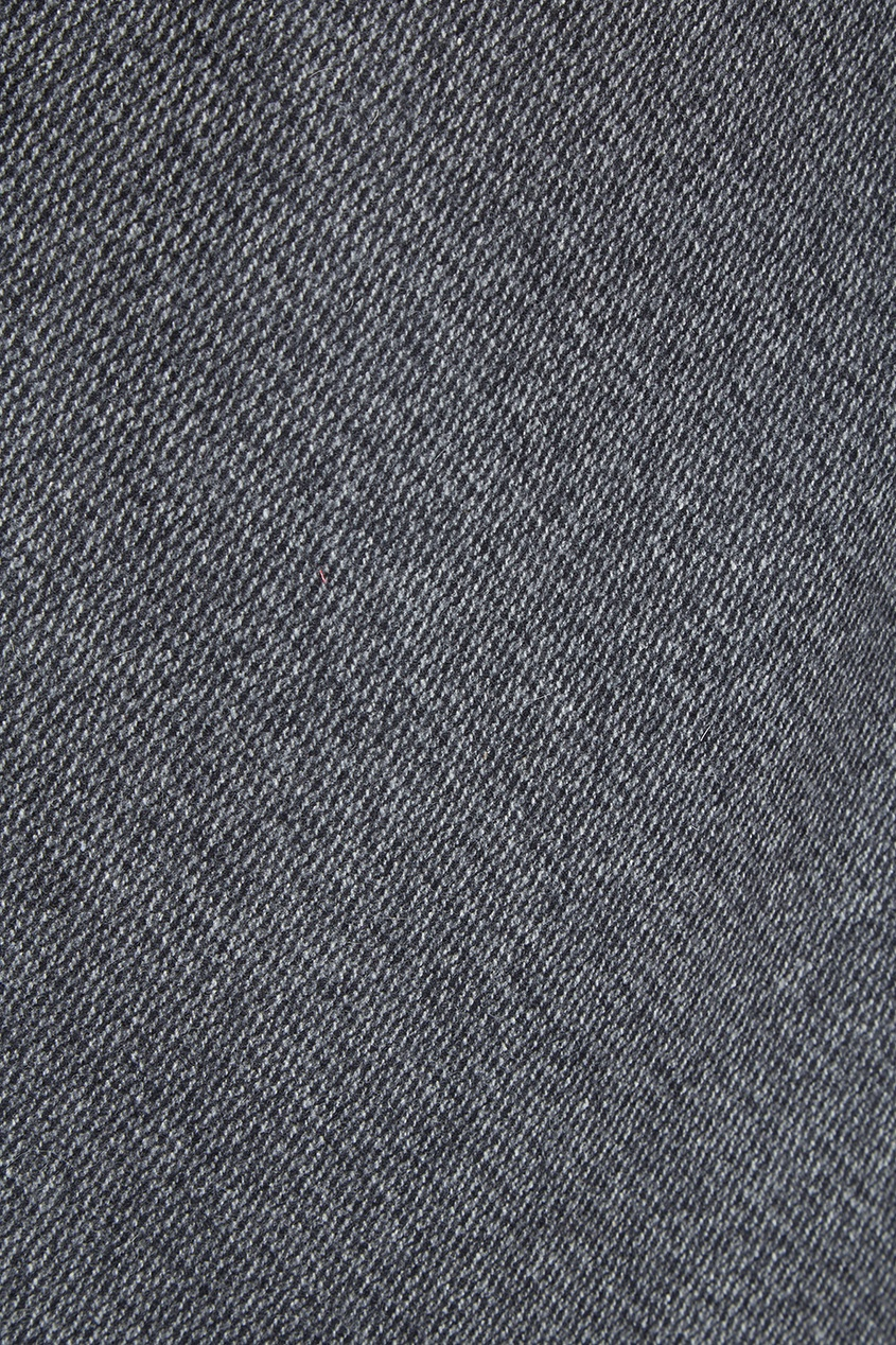 Купить со скидкой Прямая серая юбка