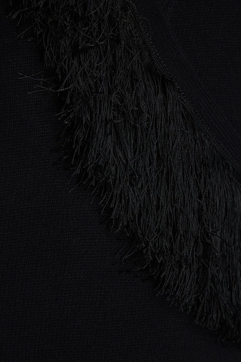 Altuzarra Черное платье с запахом laroom черное платье с запахом