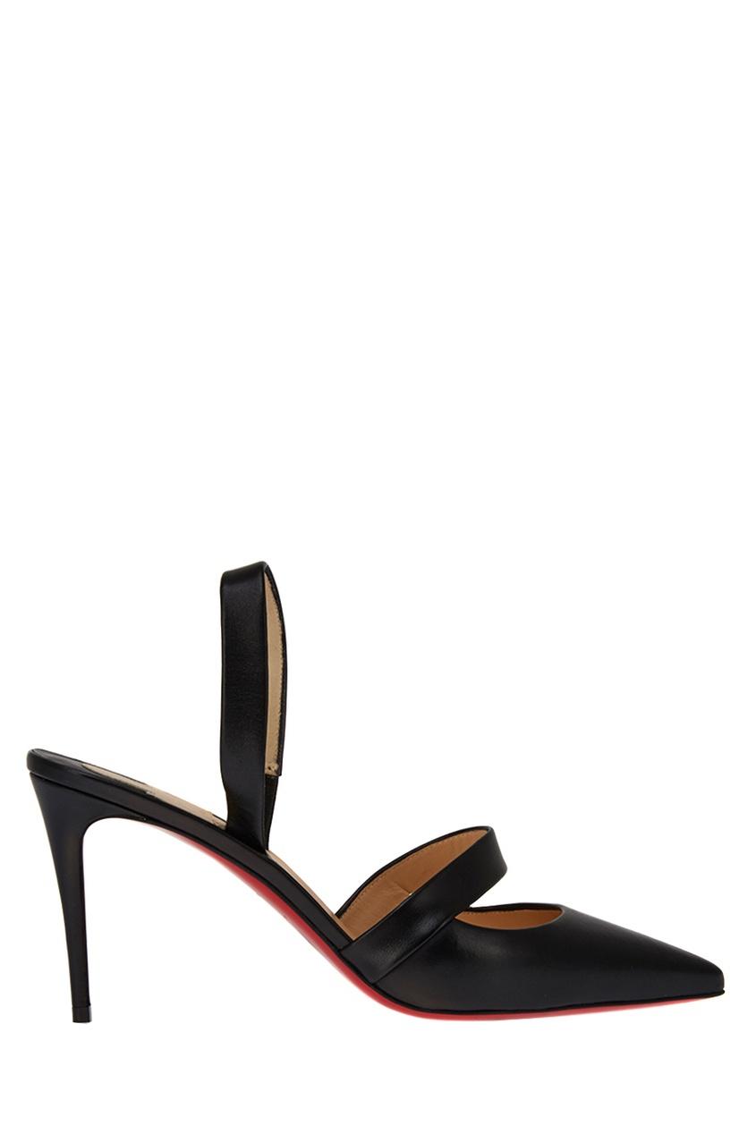 купить Christian Louboutin Кожаные туфли Actina 85 дешево