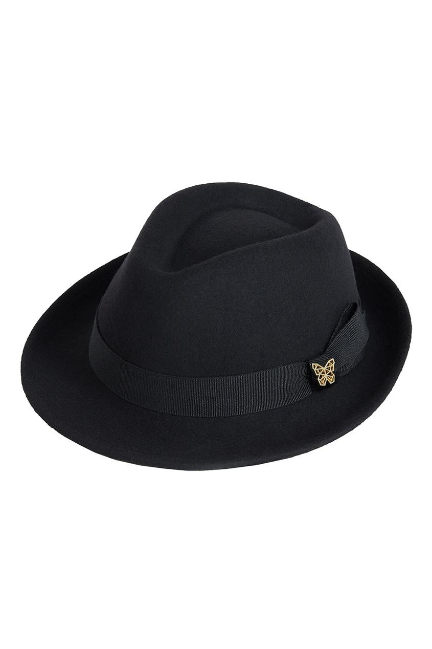 Черная фетровая шляпа Lauren от Age of Innocence