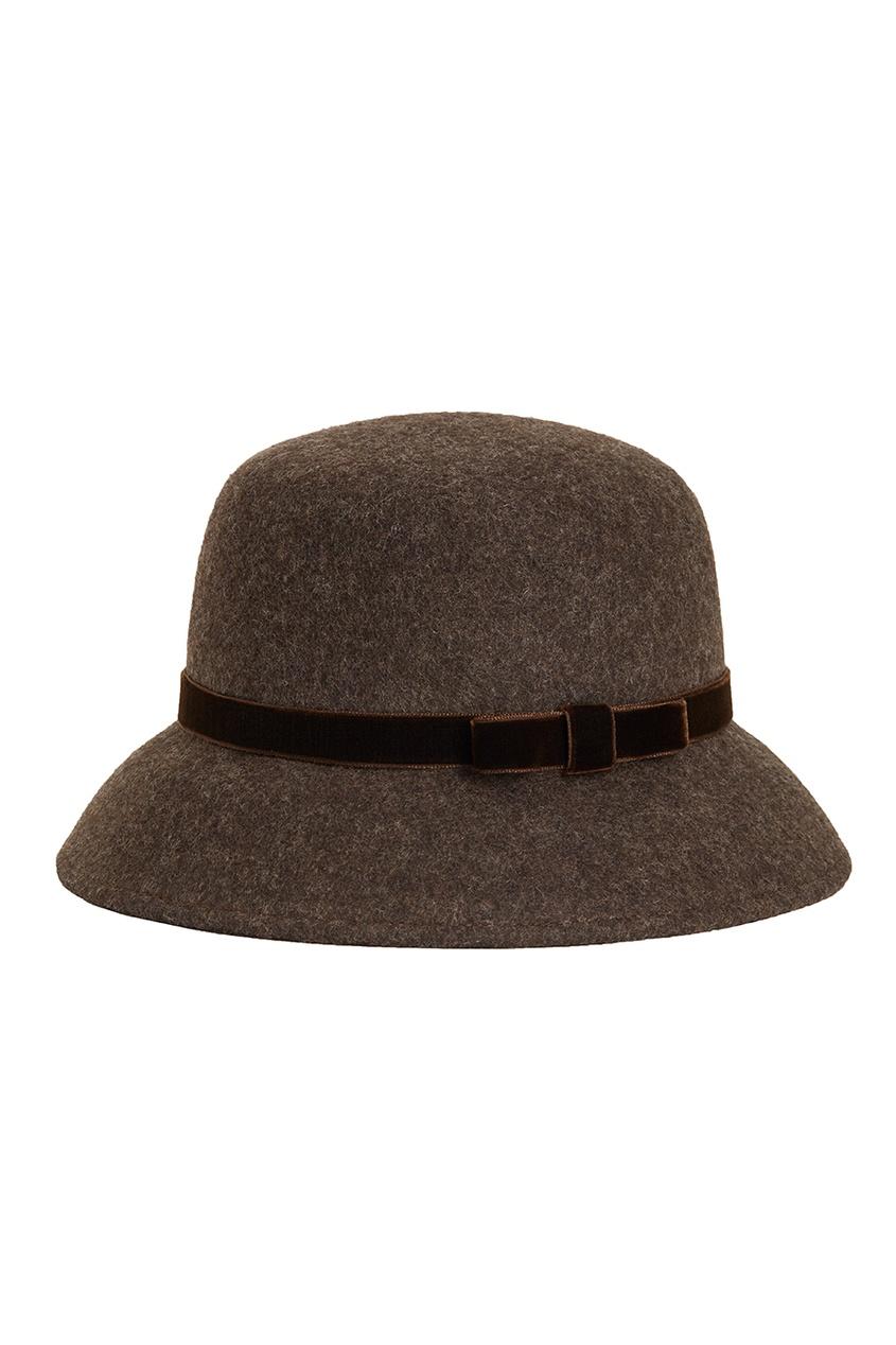 Коричневая фетровая шляпа Julie от Age of Innocence