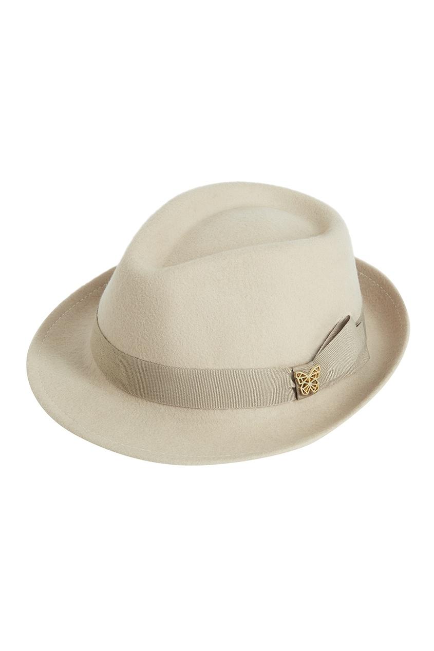 Бежевая фетровая шляпа Lauren от Age of Innocence