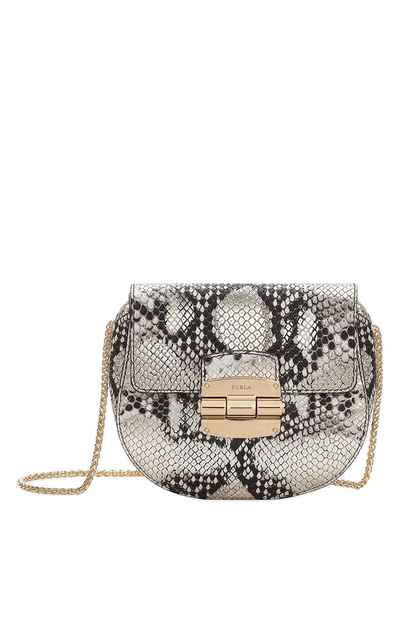FURLA Кожаная сумка Club сумка furla сумка