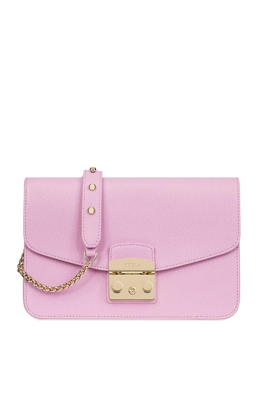 FURLA Розовая сумка Metropolis сумка furla furla fu003bwjkk37