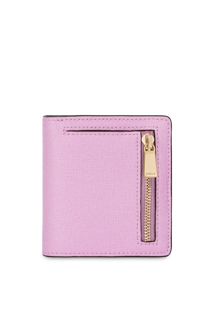 furla серый кожаный кошелек man marte FURLA Розовый складной кошелек Babylon