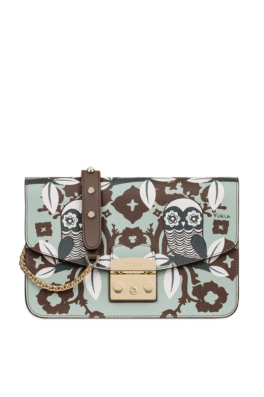 FURLA Сумка с совами Metropolis сумка furla сумка