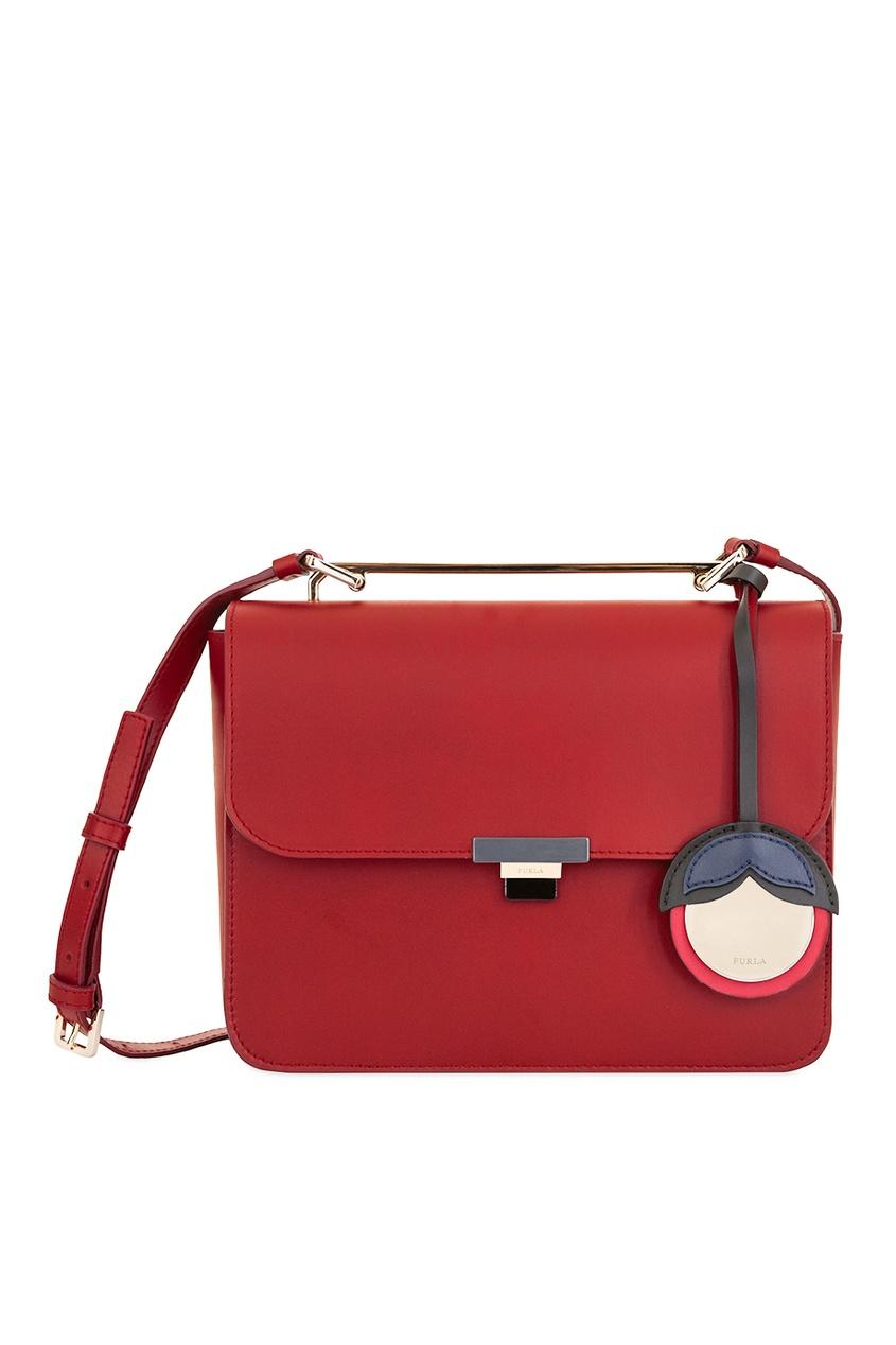 Красная сумка Elisir