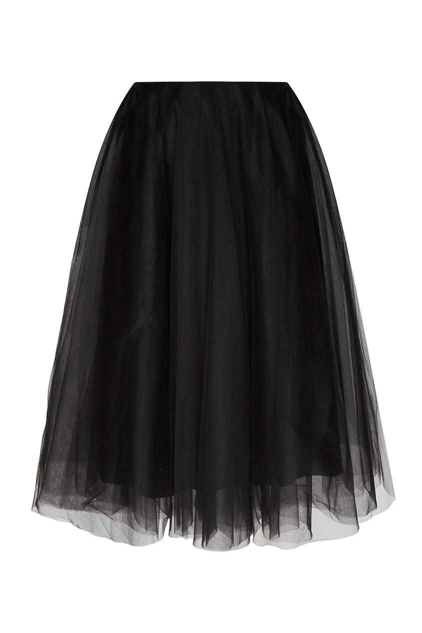 Черная юбка-пачка