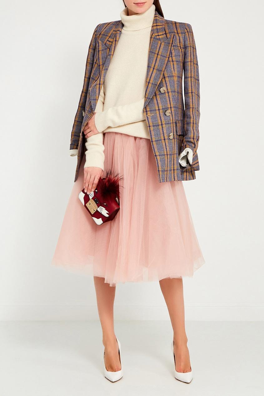 VIKTORIA IRBAIEVA Розовая юбка-пачка