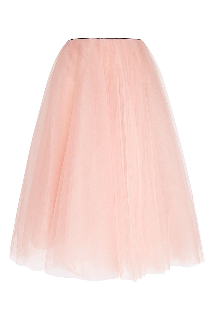 Розовая юбка-пачка