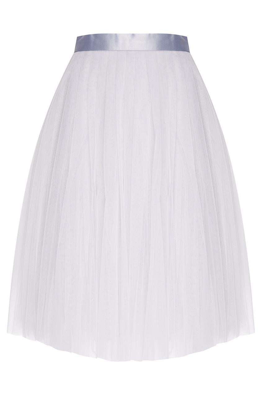 Серая юбка-пачка