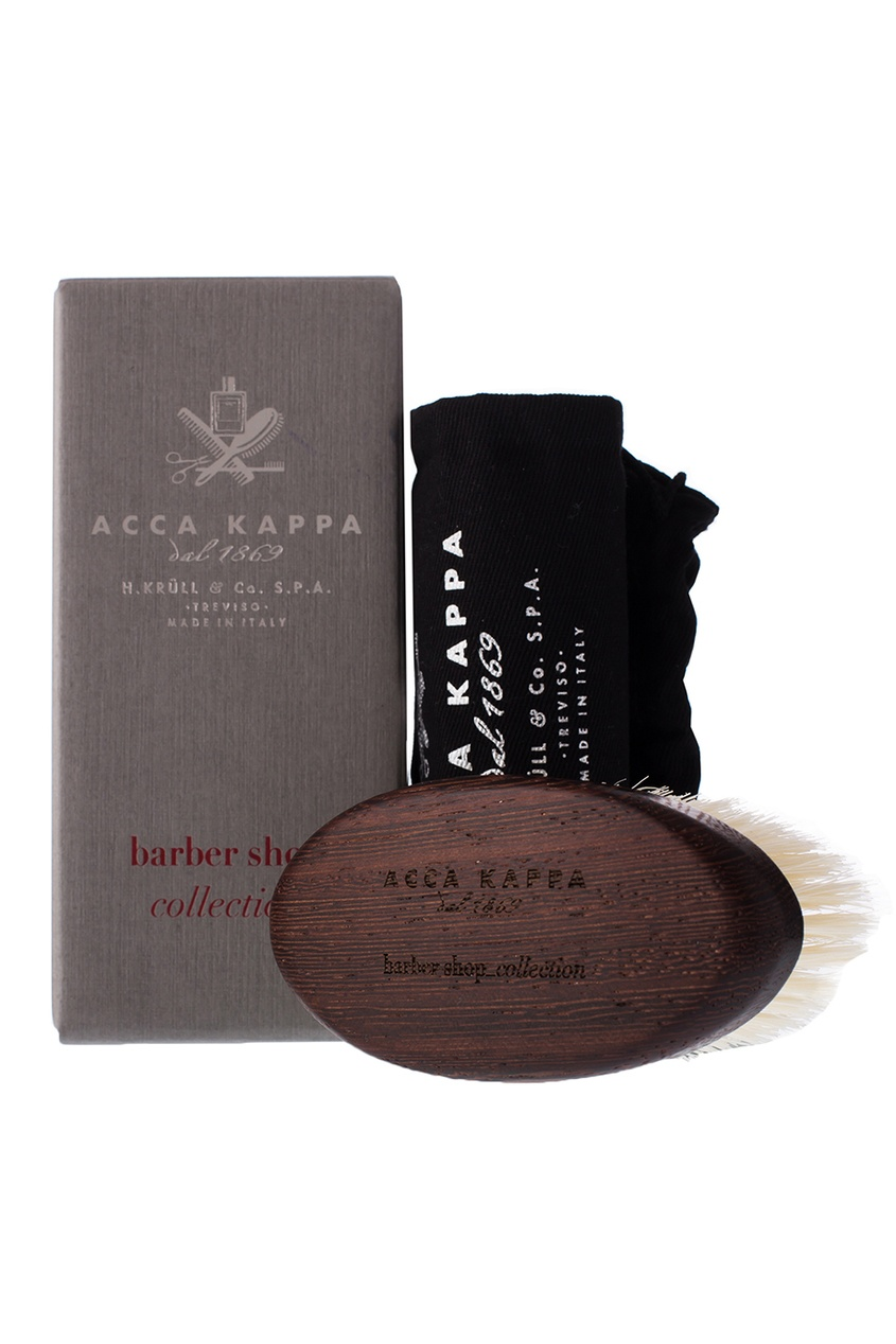 Acca Kappa Щетка для бороды с основой из дерева ороситель truper с 3 соплами с пластиковой основой