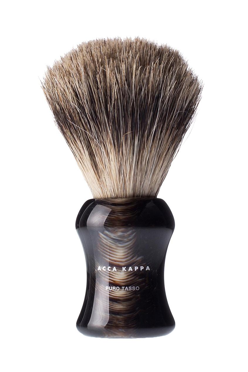 Кисточка для бритья с основой из дерева