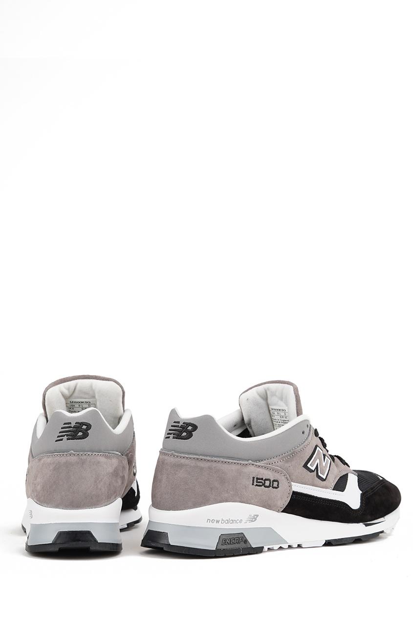 New Balance Контрастные замшевые кроссовки №1500 new balance голубые кроссовки из замши 997