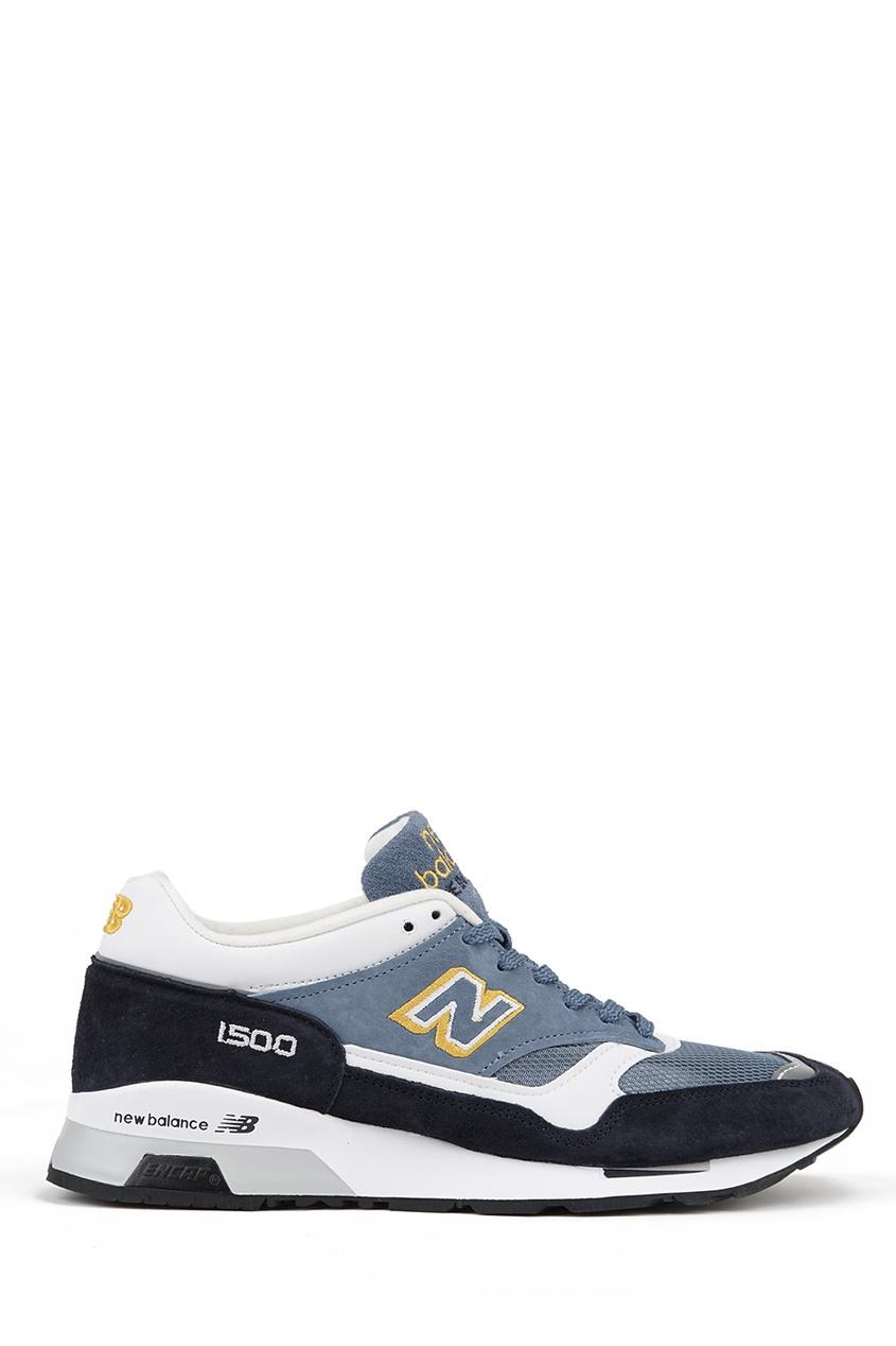 New Balance Замшевые кроссовки с контрастными деталями №1500 купить new balance u420ukg в сургуте
