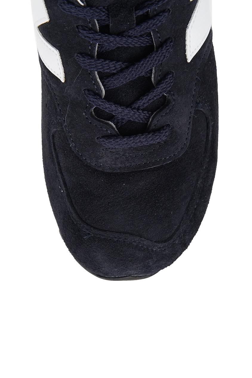 New Balance Синие замшевые кроссовки №576 new balance голубые кроссовки из замши 997