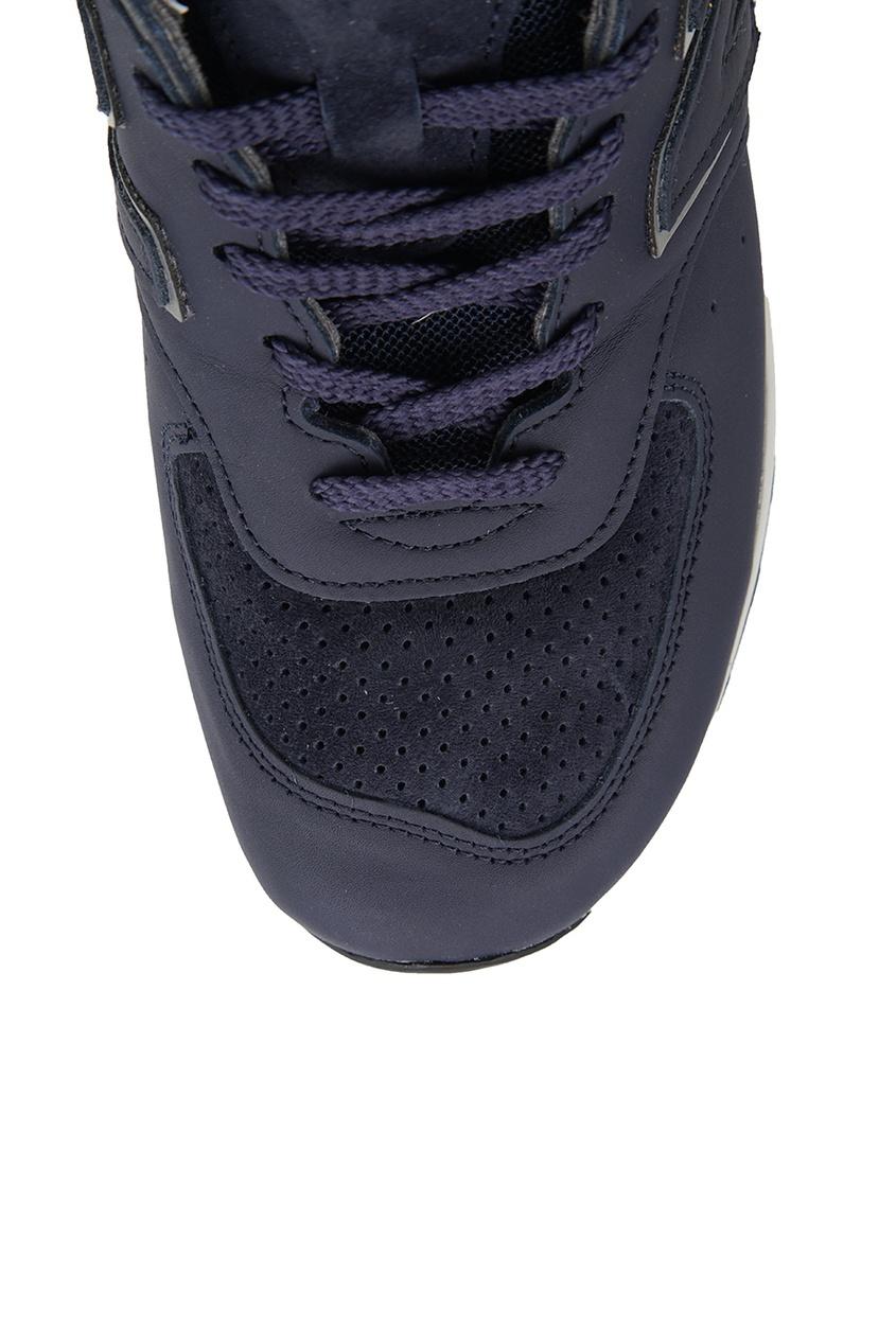 New Balance Синие кроссовки из кожи №576 new balance футболка chiks