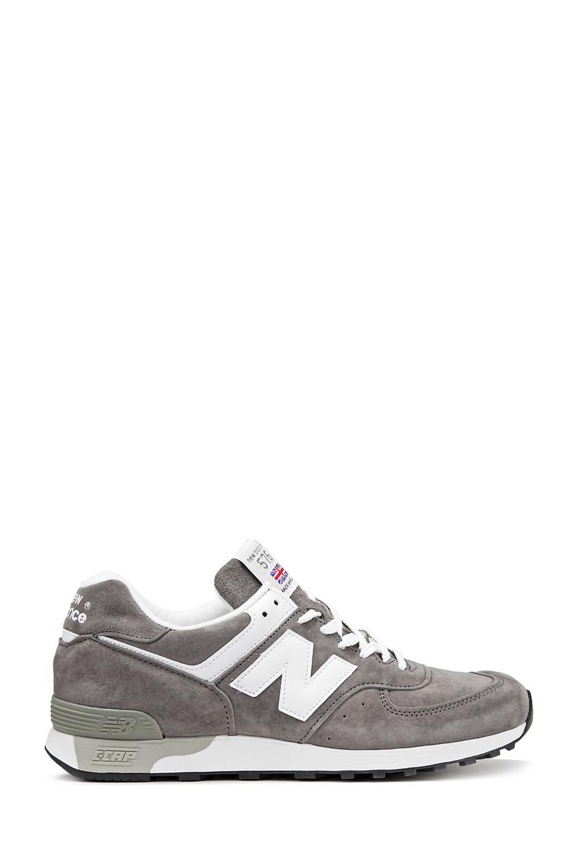 New Balance Серые замшевые кроссовки №576 купить new balance u420ukg в сургуте