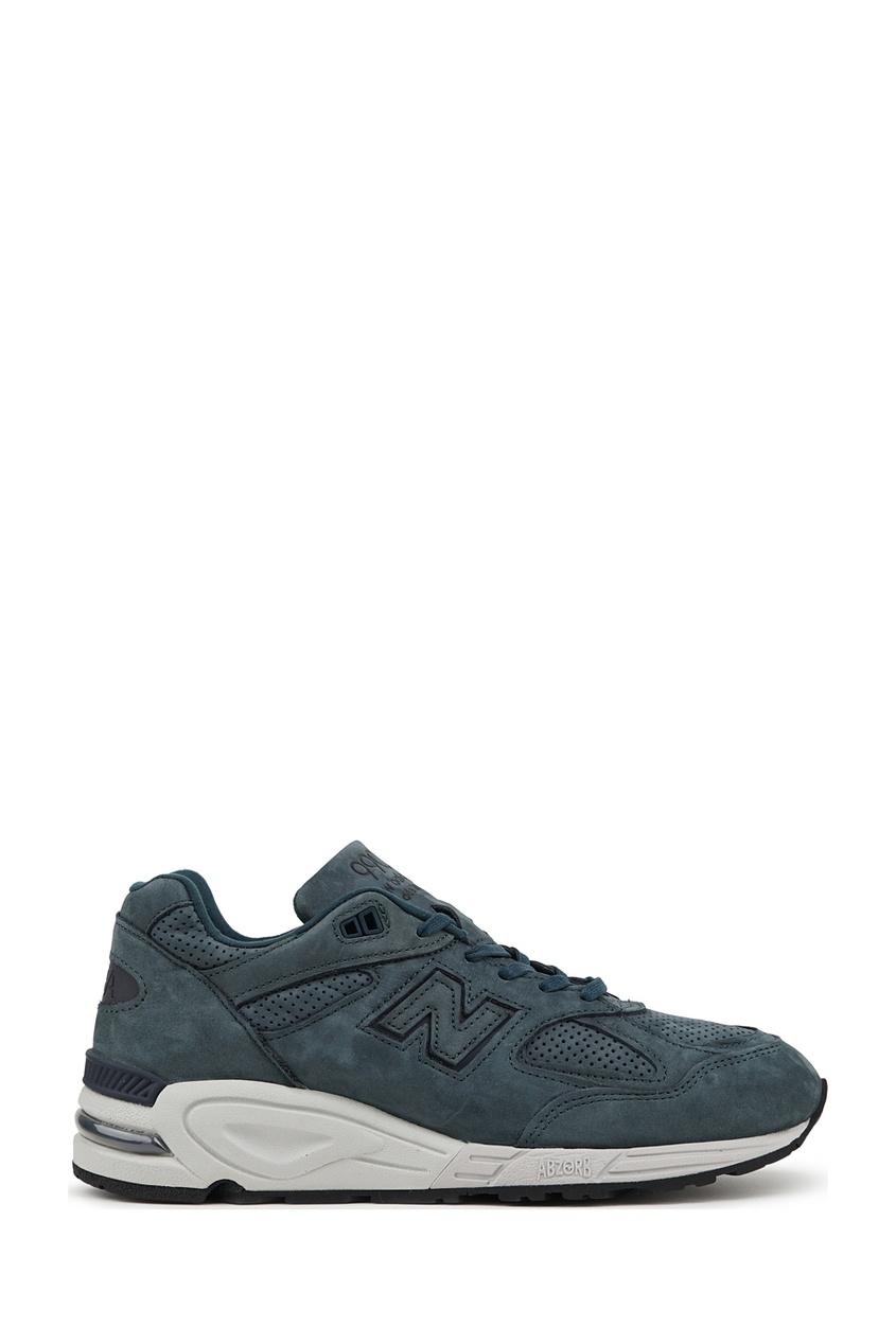 New Balance Серые замшевые кроссовки №990v2 купить new balance u420ukg в сургуте