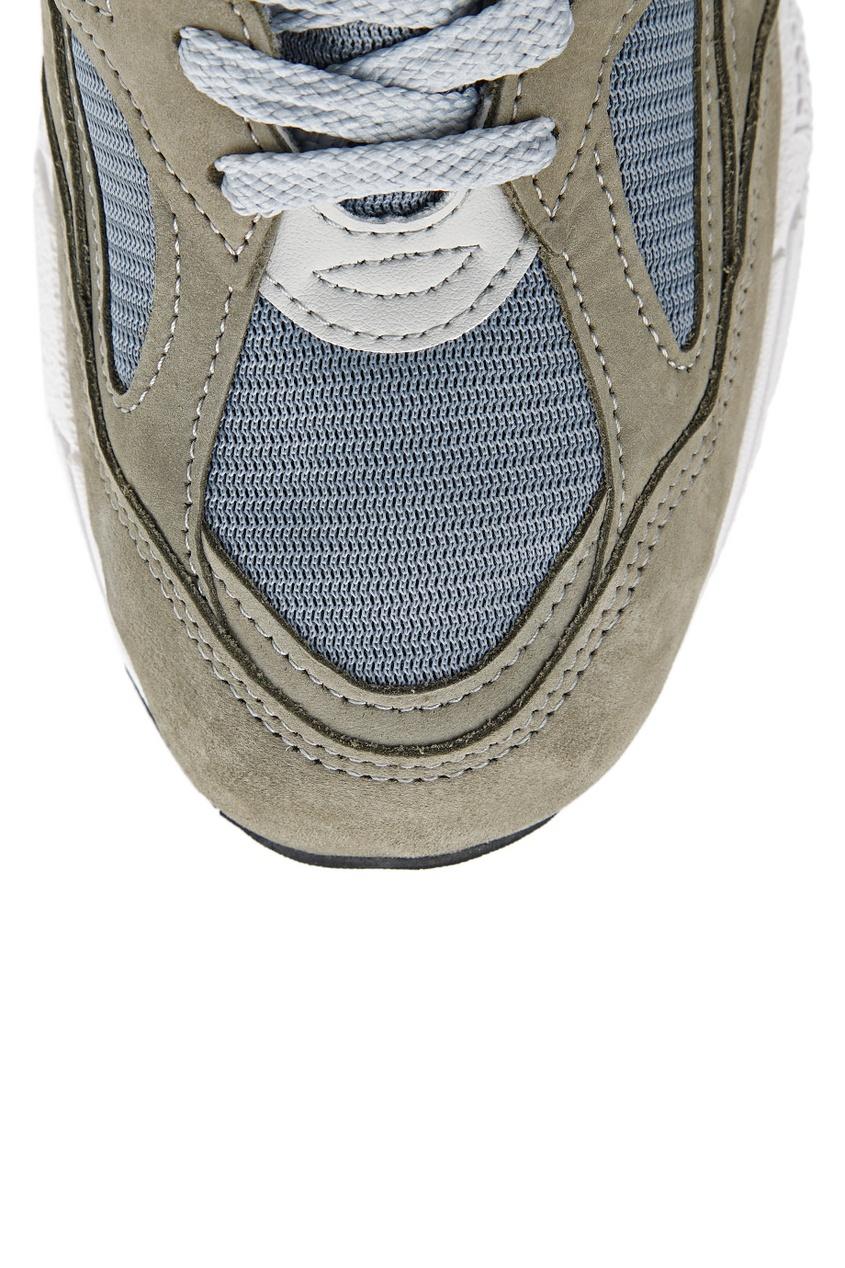 New Balance Зеленые замшевые кроссовки №990v2 кроссовки new balance gw500lgt b