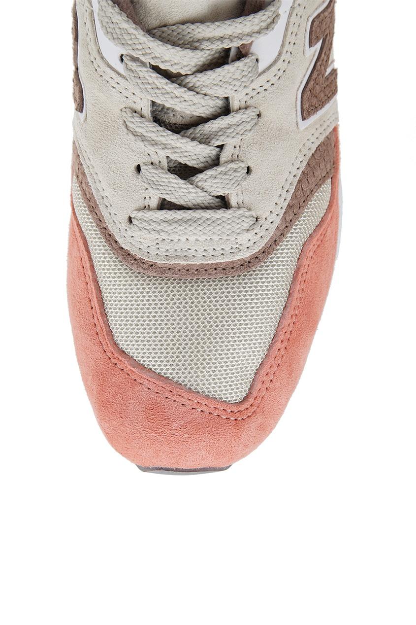 New Balance Комбинированные кроссовки №997 new balance голубые кроссовки из замши 997