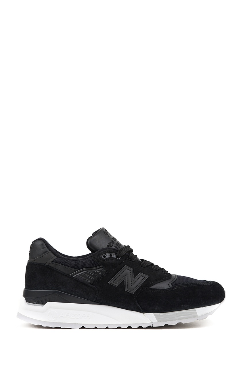 New Balance Черные замшевые кроссовки №998 кроссовки new balance gw500lgt b