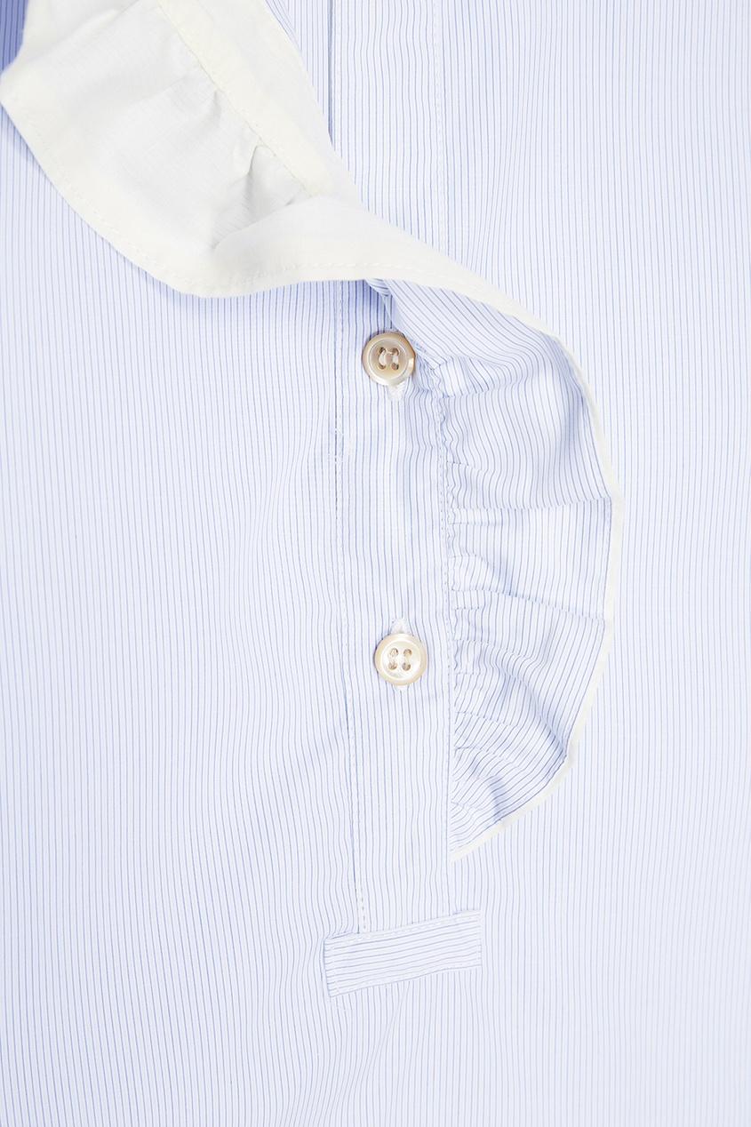 где купить Isabel Marant Хлопковая блузка с оборками по лучшей цене