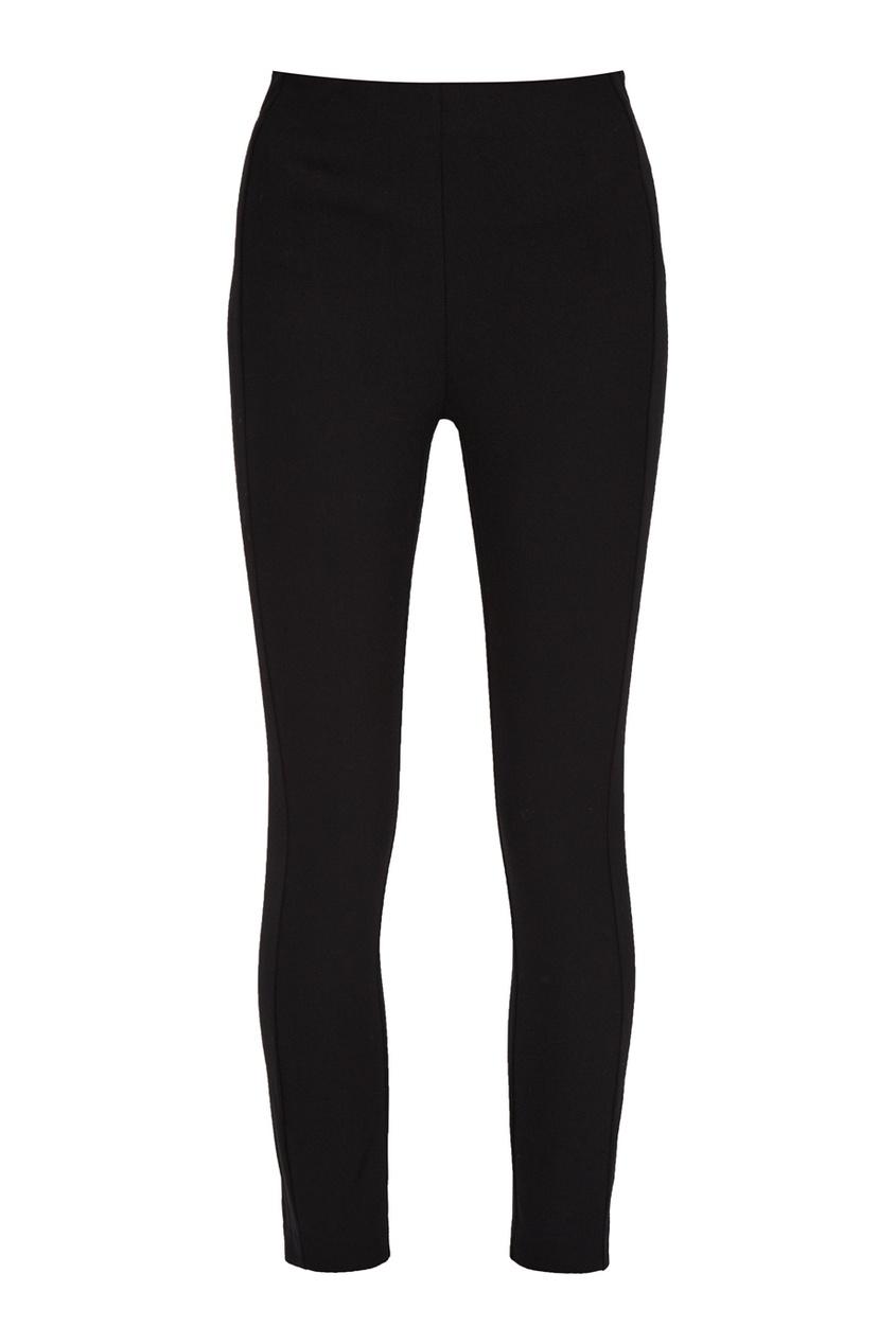 Черные хлопковые брюки
