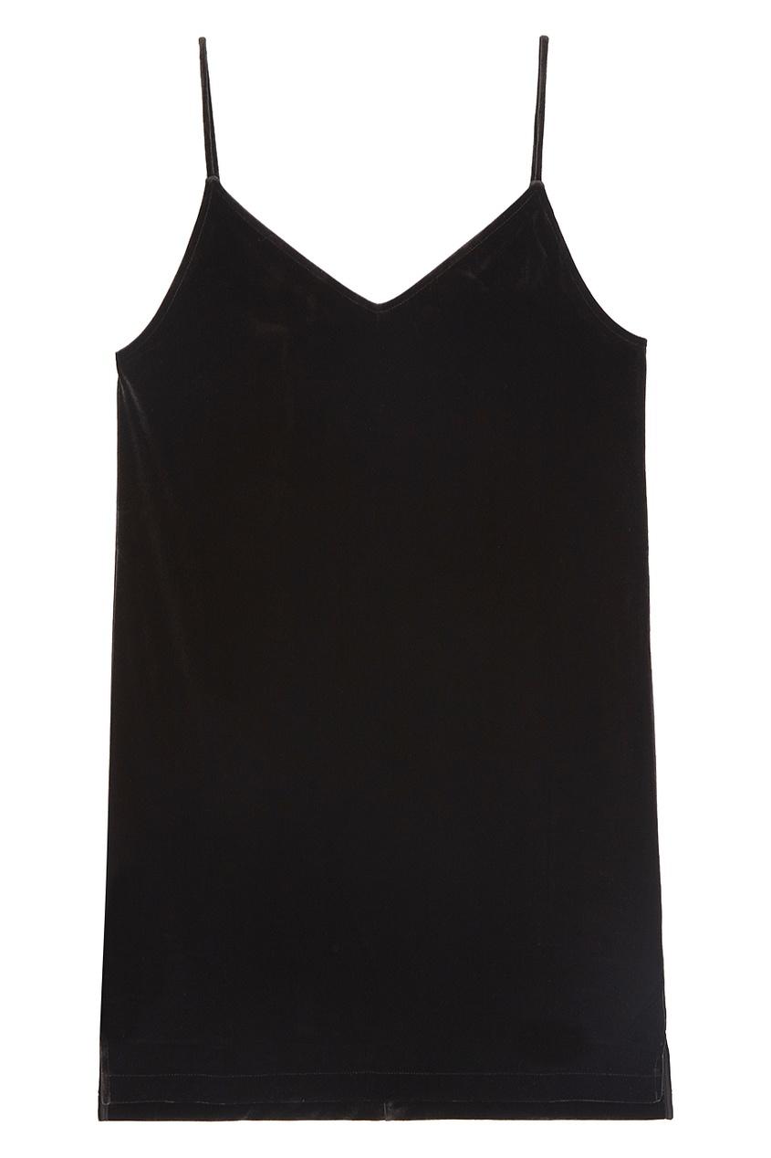 Rag&Bone Бархатное платье на тонких бретелях платье летнее на тонких бретелях marianne