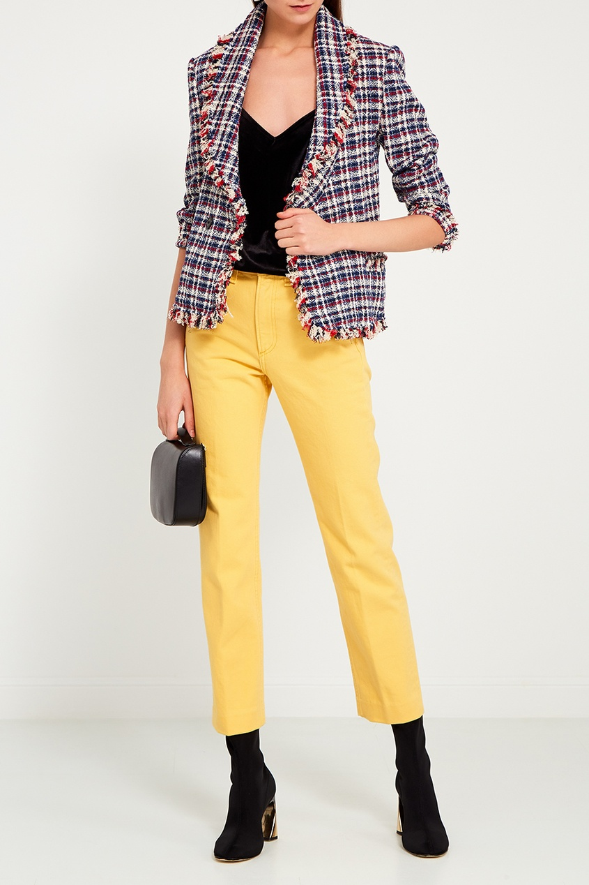 Rag&Bone Желтые джинсы