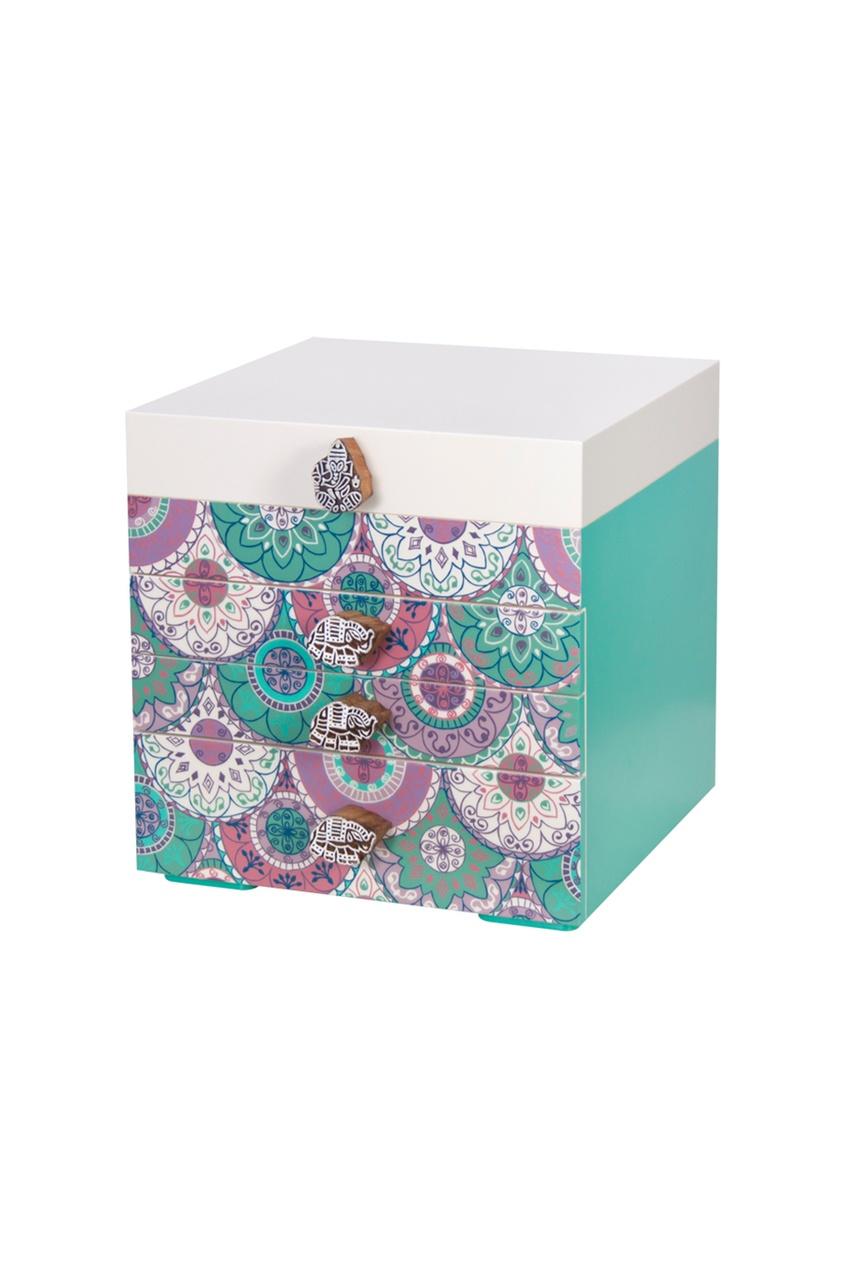 Маленькая шкатулка для украшений Colourful India