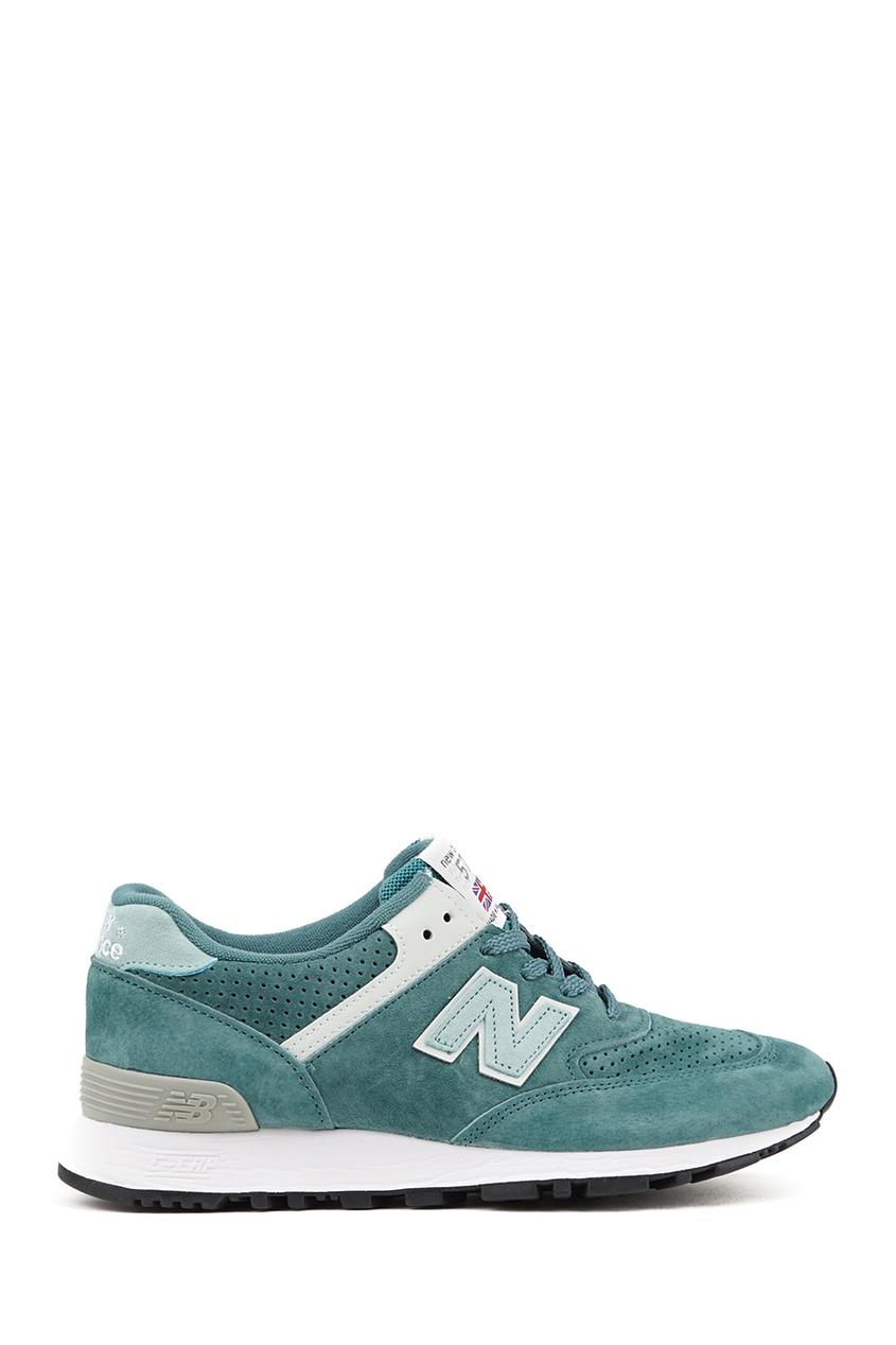 New Balance Зеленые кроссовки из замши №576 купить new balance u420ukg в сургуте