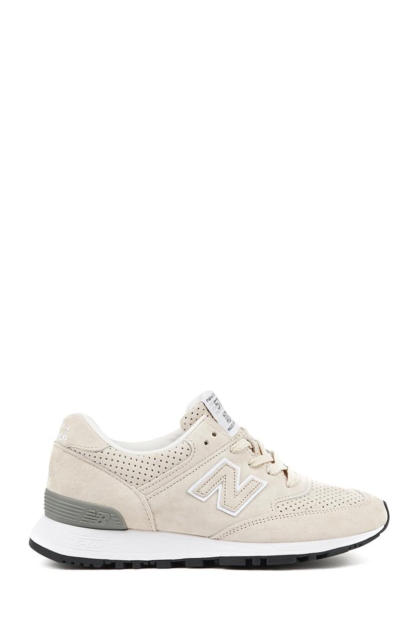 New Balance Бежевые кроссовки из замши №576 купить new balance u420ukg в сургуте