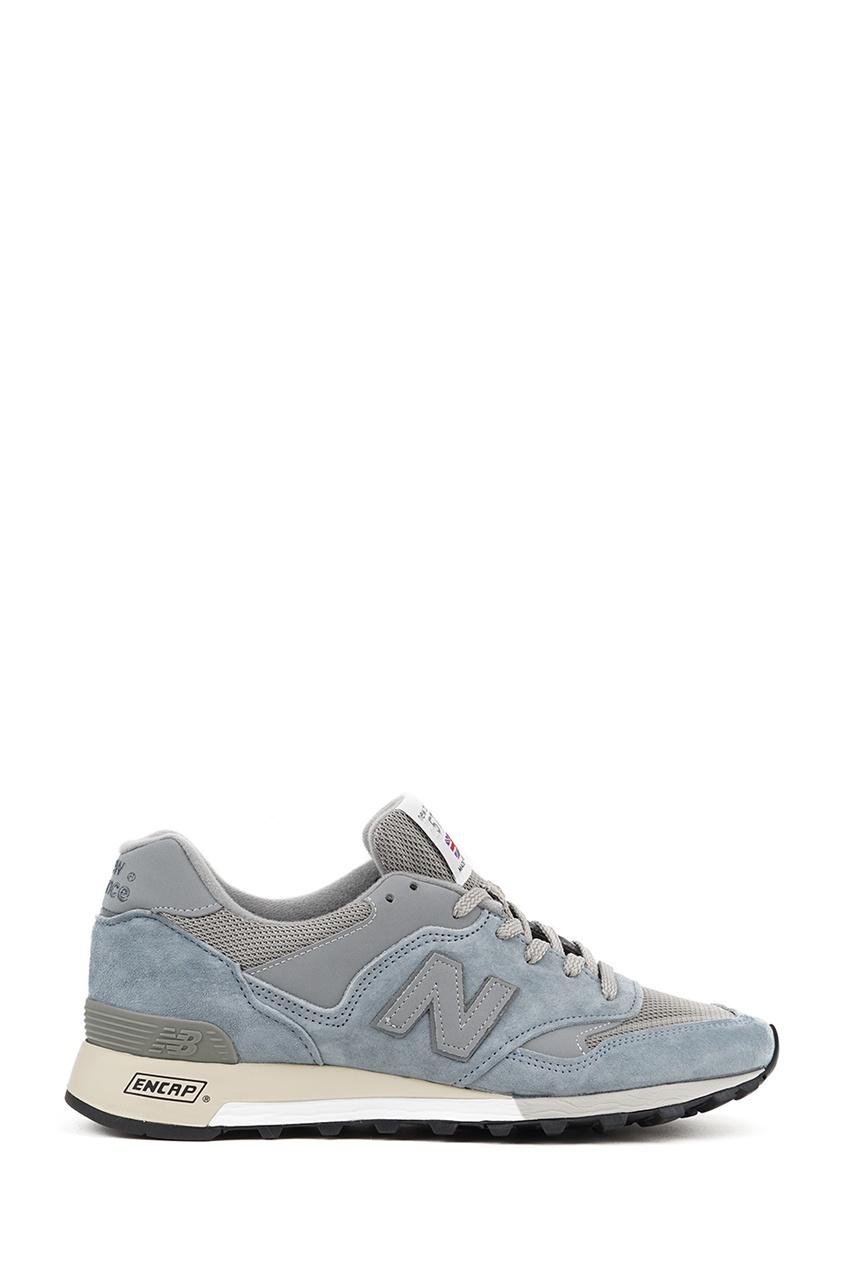 New Balance Голубые замшевые кроссовки №577 купить new balance u420ukg в сургуте