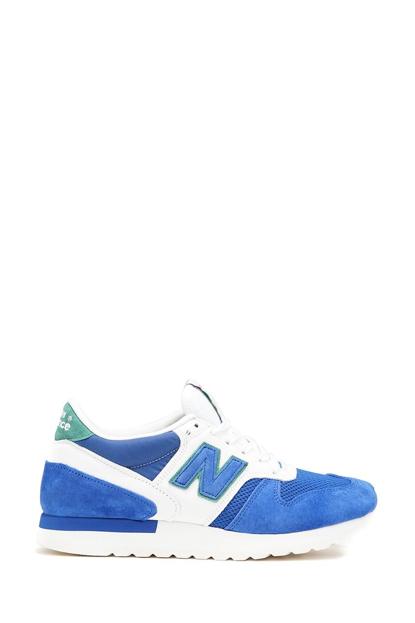 New Balance Синие замшевые кроссовки №770 купить new balance u420ukg в сургуте